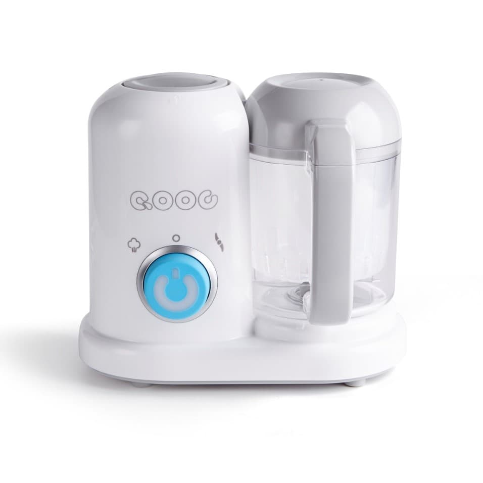 Baby Food Maker Processor QOOC 4-in-1 white front