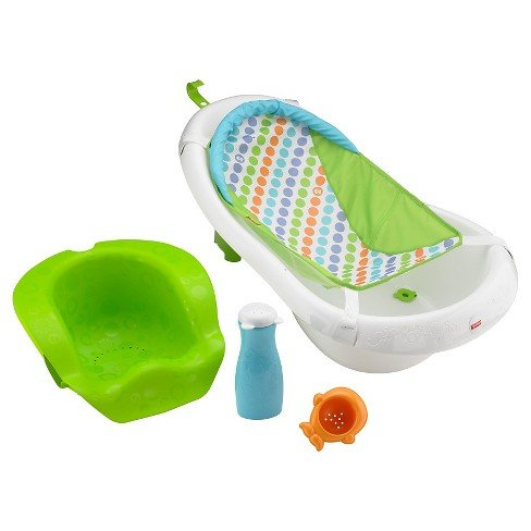 Baignoire pour bébé Fisher-Price 4-in-1 Sling 'n Seat Tub